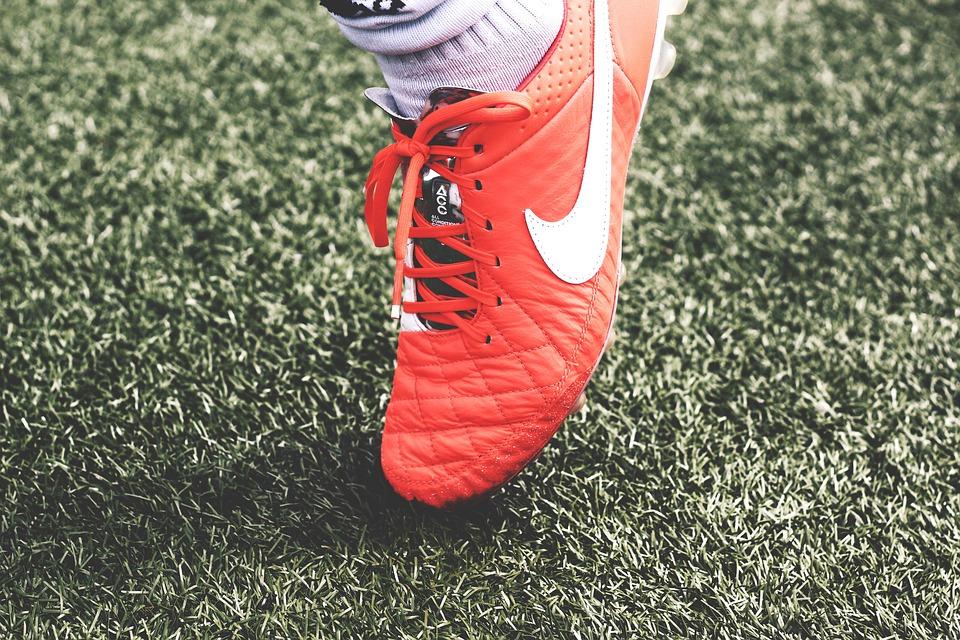 En fotbollsspelares utrustning